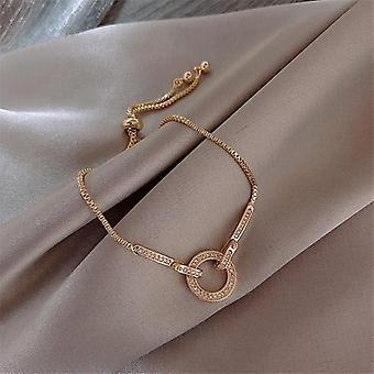 Mode Aaa Cubic Zirkonia Kristall Anhänger Armband