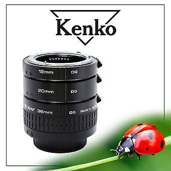 Kenko extension tube set dg nikon spacer ring set–black 36mm