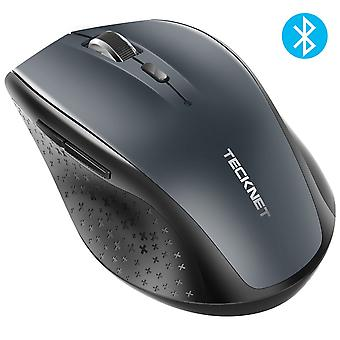 Tecknet bluetooth mouse, 3000dpi wireless mouse, 24 month battery life with battery indicator, 3000/