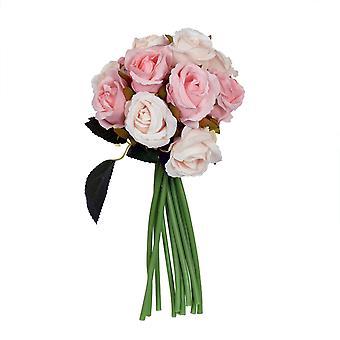 Kimppu Ruusut vaaleanpunainen