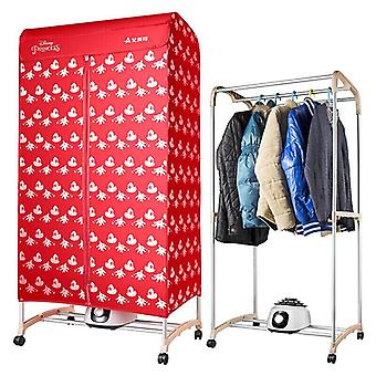 Electric Clothes Dryer, Large Capacity, Double Drying Machine Wardrobe