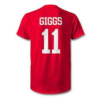 Ryan Giggs Man Utd Legend Kids Hero T-Shirt