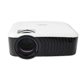 T4 Mini LED LCD Projector 3000 Lumens 1080P Supported Multimedia for Outdoor Movie Cinema Home Theat
