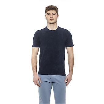 Alpha Studio Mäns Blå T-shirt