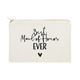 Best Maid Ever-cotton Canvas Cosmetic Bag