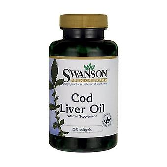 Cod Liver Oil, 350mg 250 softgels