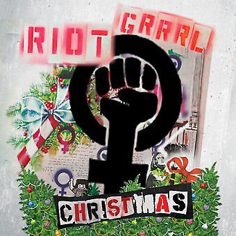 Riot Grrrl Christmas / Diverse - Riot Grrrl Christmas (Grön Vinyl) [Vinyl] USA import