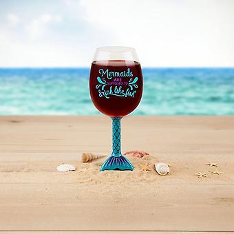 BigMouth Inc. Mermaid Tail Wine Glass