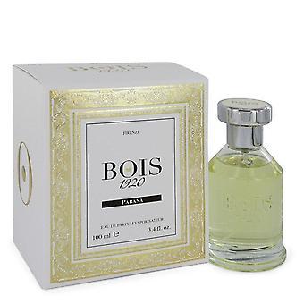 Bois 1920 Parana Eau De Parfum Spray By Bois 1920 3.4 oz Eau De Parfum Spray