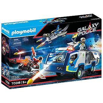 Playmobil Galaxy Police Truck