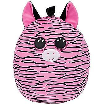 "TY Zoey Zebra Squish-A-Boo 10"""