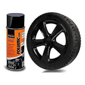 Flytande gummi för bilar Foliatec Svart 150 ml