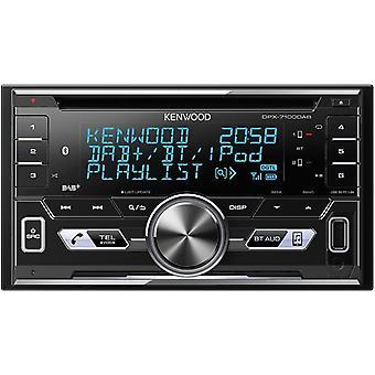 HanFei DPX-7100DAB Doppel-DIN-Empfänger mit iPod-Steuerung / Bluetooth-Freisprecheinrichtung und DAB+