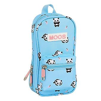 Backpack Pencil Case Moos Cat Forest Panda Light Blue (33 Pieces)