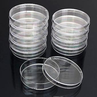 10pcs Polystyrene Sterile Petri Dishes Bacteria Culture Dish