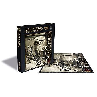 Guns n' roses - chinese democracy 500pc puzzle