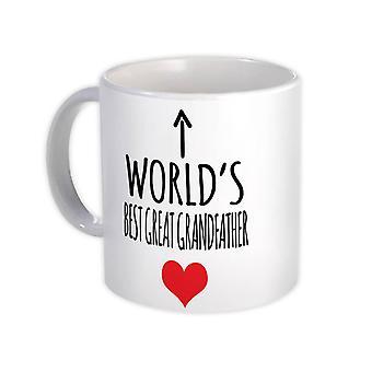 Gift Mug: 's Werelds beste OVERGROOTVADER Liefde