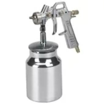 Einhell paint spray gun with flow cup