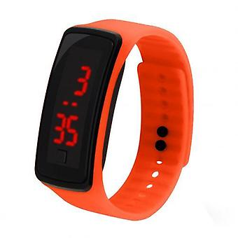 Children Watch, Kids Silicone Band, Led Screen Electronic Digital Sports
