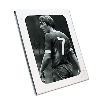 Kenny Dalglish Signed Liverpool Photo: The King's Debut. Gift Box
