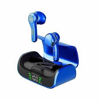 TWS Marvel Captain America T5 trådløse øretelefoner (blå)