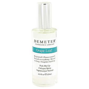 Demeter grape leaf cologne spray by demeter 426404 120 ml