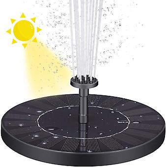 Solar Fountain Solar Water Pump Floating Fountain With 6 Nozzles