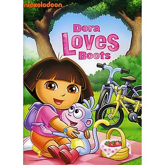 Dora l'exploratrice - Dora aime bottes [DVD] USA import