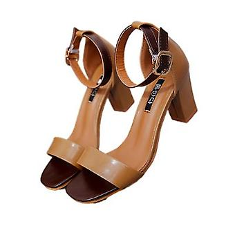 Sandals Are Trendy, Versatile Chunky And Fairy Heels