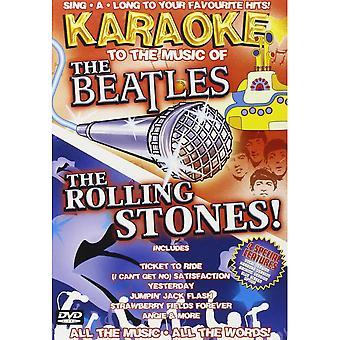 Karaoke till musiken av Beatles & Rolling Stones DVD