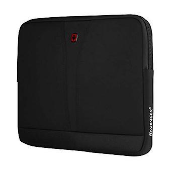 """Wenger 606460 BC TOP 14"""" laptop erme, slitesterkt ballistisk stoff med glidelås lomme i svart {4 liter}"""