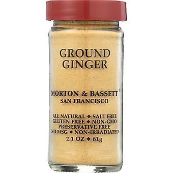 Morton & Bassett Ginger Ground, Case of 3 X 2.1 Oz
