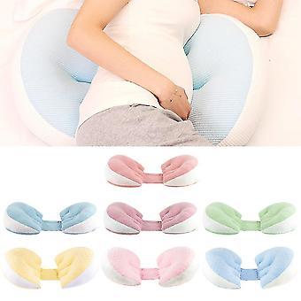 Gravide kvinder Pillow Multi-Funktion Side Sleeper Beskyt Waist Sleep Pillow Abdomen Support U Shape