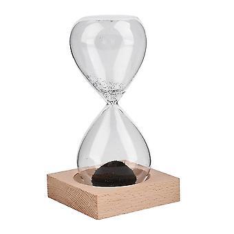 Mundgeblasenes Glas Sand Magnet Magnetische Sanduhr Timer Uhr Geschenk Home Decor