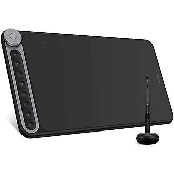 Inspiroy Dial Q620M Grafiktablett Zeichentablett mit 8192 Batteriefreier Stift mit 8