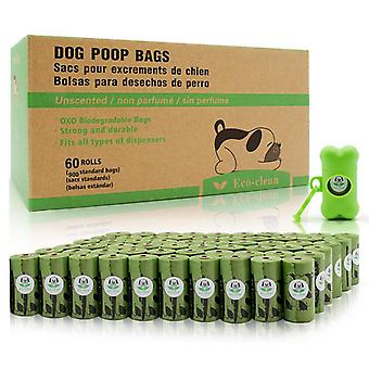 الحيوانات الأليفة القابلة للتحلل كيس القمامة الكلب البراز كيس الكلب كيس النفايات