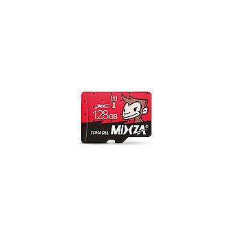 Monkey Limited Edition 128GB U1 TF Micro Memory Card för Digital Camera MP3 TV Box Smartphone