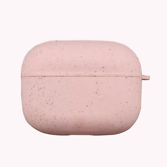 Pink eco friendly airpods pro case