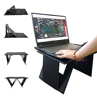 Portabil Laptop Stand suport pliabil Notebook de bază Stand Lap Desk multifuncțional calculator Laptop Holder
