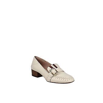 Bally   Janelle Studded Block-Heel Loafers