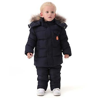 Winter Clothing Set, Cotton Coat Jumpsuit