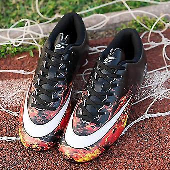 נעלי כדורגל גברים בחוץ מגפי כדורגל קרסול גבוה Cleats אימון נעלי ספורט