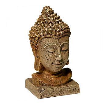 """Blue Ribbon Ambientes Exóticos Cabeça de Buda Tailandesa - Grande (3""""W x 5,75""""H)"""