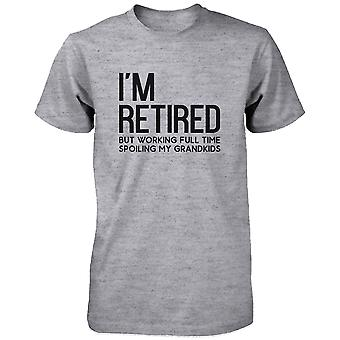 I'm Retired Cute Shirt for Grandfather Cute Tee Christmas Gifts for Grandpa