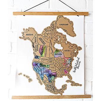 Koulutus raapii matkojasi Pohjois-Keski-Amerikan karttaan