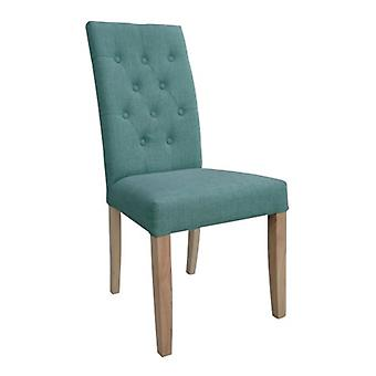 Tyga Oak Chair With Fabric Upholstered Seat Colour Selection Fully Assembled