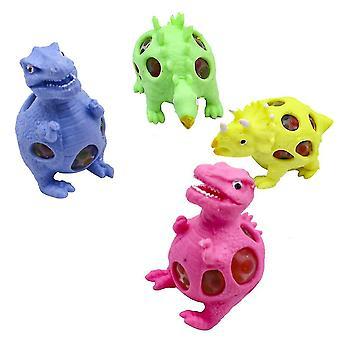4pcs Dinosaurier Squishy Spielzeug Lovely Fidget Toy Stress Reliever
