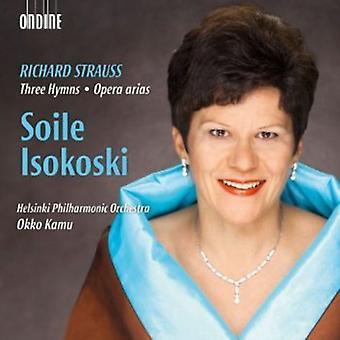 R. Strauss - Richard Strauss: Three Hymns; Opera Arias [CD] USA import