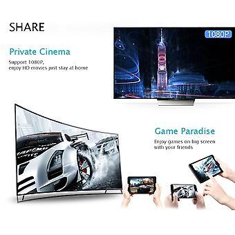 Hd Av Dual Output Q1 Dual Core Wifi Display Empfänger Hdmi Android TV Stick