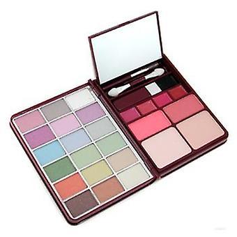 Makeup Kit G0139 (18x Eyeshadow 2x Blusher 2x Pressed Powder 4x Lipgloss) - 1 - -